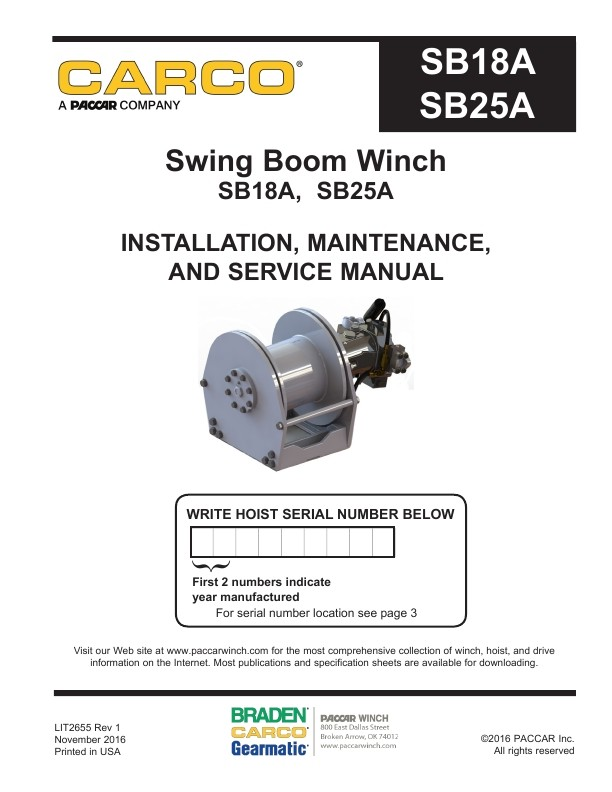 Sb18a sb25a installation maintenance and service manual carco sb18a sb25a installation maintenance and service manual publicscrutiny Image collections