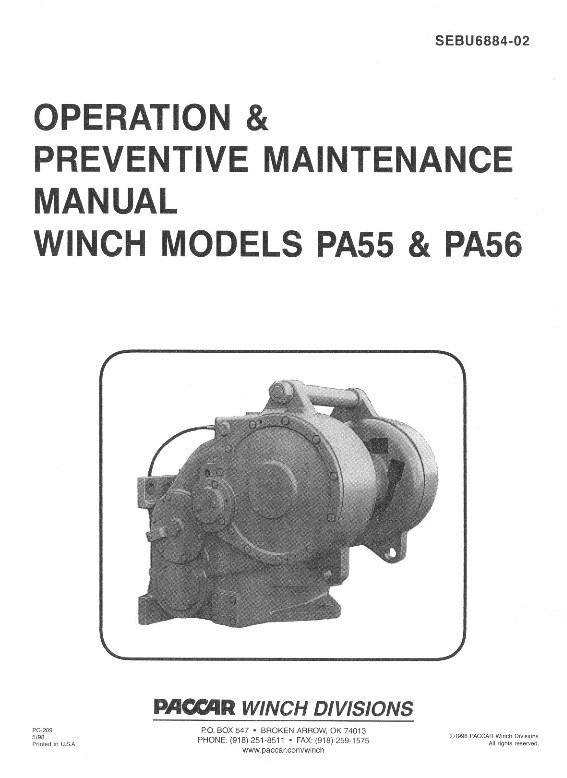 PA55 & PA56 for CAT Operations Manual