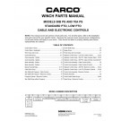 Model 50B/70A Winch Parts Manual (Winch ONLY)