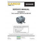 CARCO - SKW40B-FS Service Manual - Part Numbers BK144 and BK145