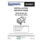 Gearmatic - GH30 Brake Kit - Part Number 65214 - Installation Instructions