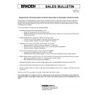 Braden - Replacement of 2nd Generation CH Series Hoists with 3rd Generation CH Series Hoists - Sales Bulletin