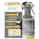 CARCO - SB25A, 25,000lbs (11,340kg) - Sales Specification Sheet