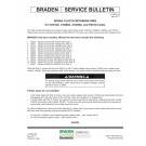 Braden - Sprag Clutch Retaining Ring for CH210A, CH260A, CH260A and PD21A Hoists - Service Bulletin