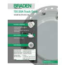 Braden - TD110A Track Drive, 110,000 Nm (973,610 in lbs) - Sales Specification Sheet