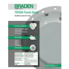 Braden - TD50A Track Drive, 50,000 Nm (442,537 in lbs) - Sales Specification Sheet