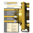 Carco - H40R Tail Winch - Sales Specification Sheet