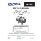 Gearmatic - Planetary Hoist with Free-fall Attachment GH30C - Service Manual