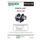 Braden - PD12C-CW Parts List