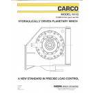 CARCO - Model H110 - 110,000 lb First Layer Line Pull - Hydraulically Driven Planetary Winch
