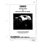 Carco - Operator's Section for Model 60-80-120 Power Shift Winches