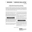 Braden - Additional Safety Recommendations and Warnings for Capstan Drives and Winches with Extension Shafts - Service Bulletin