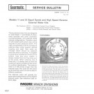 Gearmatic - Models 11 and 25 Equal Speed and High Speed Reverse External Motor Kits - Service Bulletin