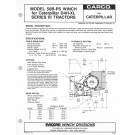 50B /CAT D4H Specification Sheet